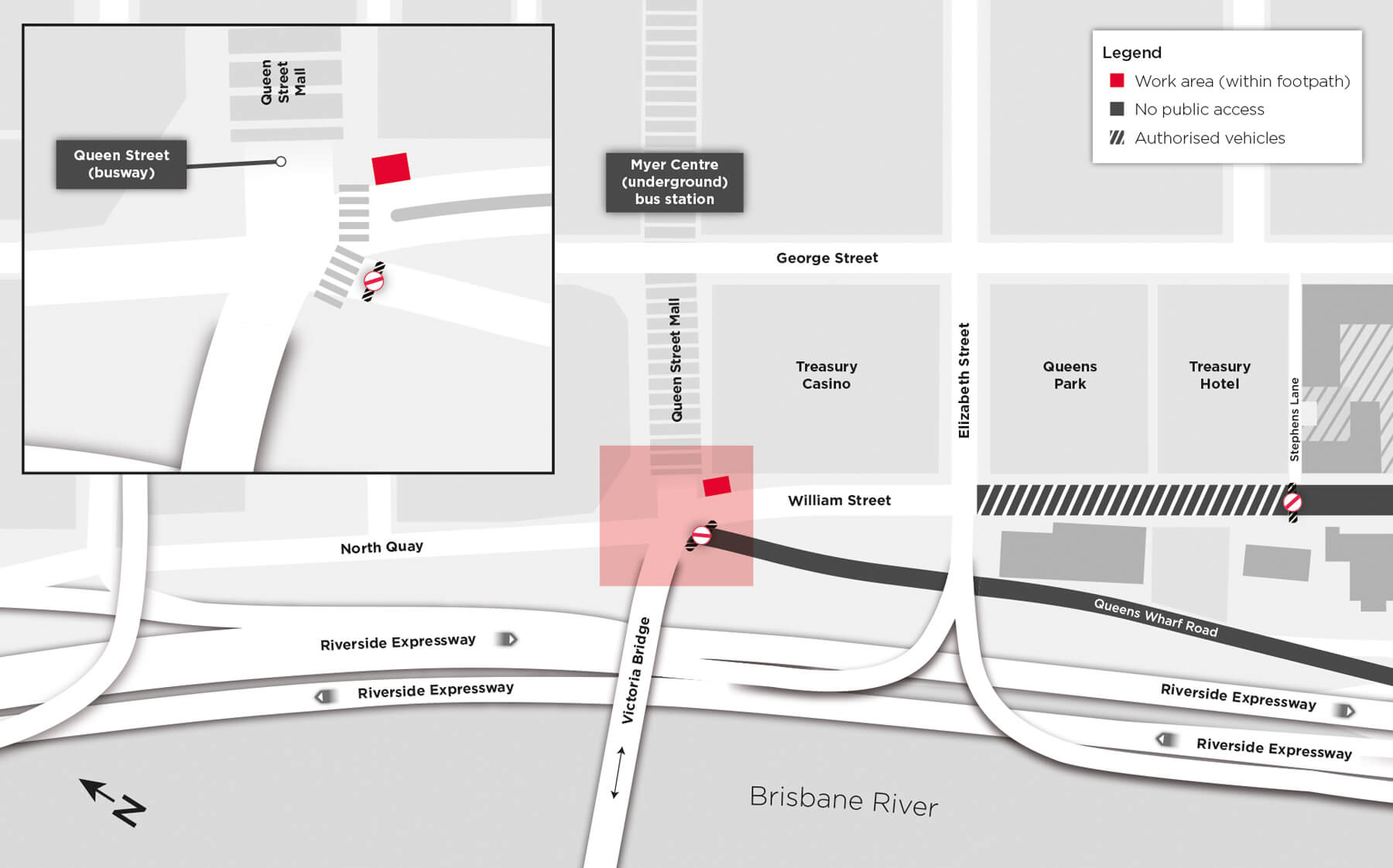 170707 - Construction Update - Water main connection cnr QueenSt - Rev B