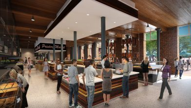Inside the former Government Printing Offices_the George St building will become a fresh food market